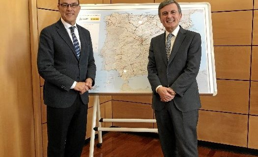Caraballo reclama a Fomento el impulso definitivo para la inversión prevista en infraestructuras en la provincia de Huelva