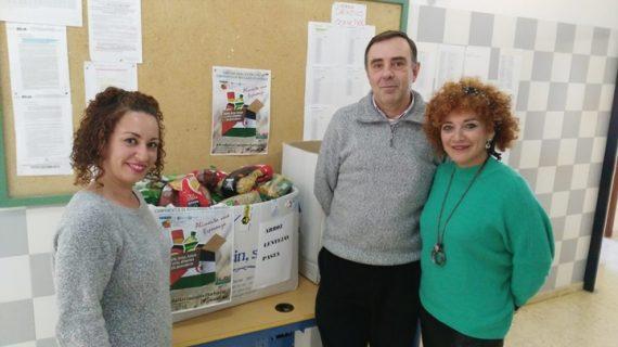 Los centros educativos de Aljaraque se vuelcan con 'Caravana por la Paz'