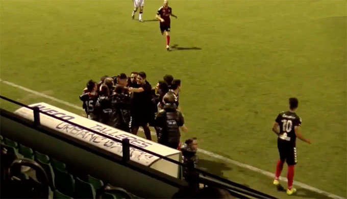El Cartaya y el Atlético Onubense, los vencedores de la jornada en la División de Honor Andaluza