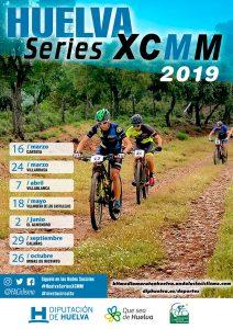 Cartel anunciador de la 'Huelva Series XCMM 2019', que constará de siete pruebas.