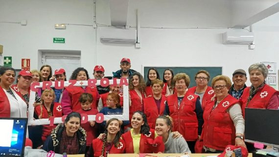 Cruz Roja fomentará la concienciación y el voluntariado durante la Feria 1900 de Moguer
