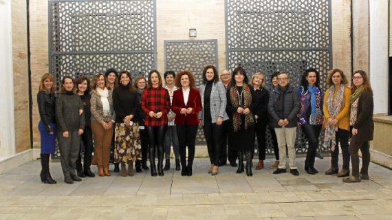 Las ocho Diputaciones andaluzas se reúnen en la de Huelva para consensuar la campaña institucional del 8 de Marzo