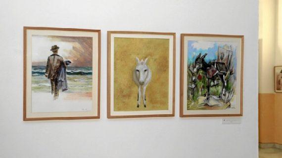Moguer acoge una de las mejores exposiciones gráficas realizadas sobre Platero y Yo