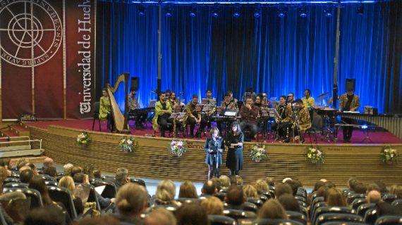 La Universidad de Huelva rinde homenaje a las entidades onubenses que han contribuido a la formación de los estudiantes en sus 25 años