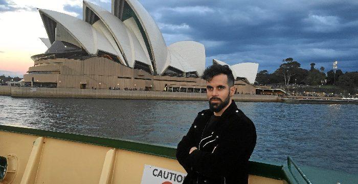 El informático almendrero Miguel Ángel Rodríguez trabaja como ingeniero de software en uno de los principales bancos de Australia