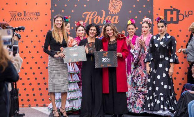 La propuesta de María Tirado, ganadora del concurso de noveles diseñadores 'Holea y Olé'