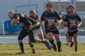Buen partido del Huelva Unión Rugby coronado con un importante triunfo.