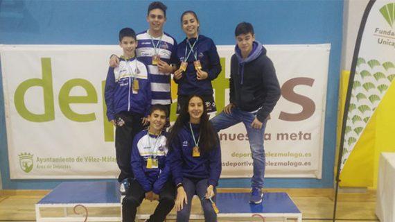 Las diez medallas logradas por el Recre IES La Orden en Vélez-Málaga compensan la decepción en la Liga Andaluza