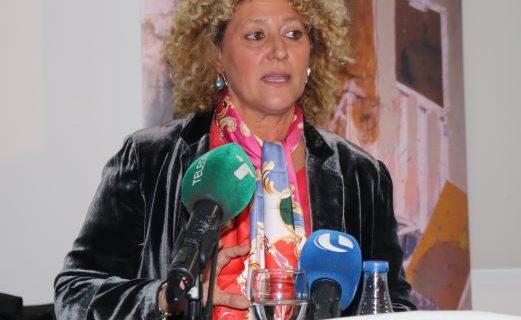 Pilar Marín expone en una conferencia las líneas maestras de su proyecto para Huelva