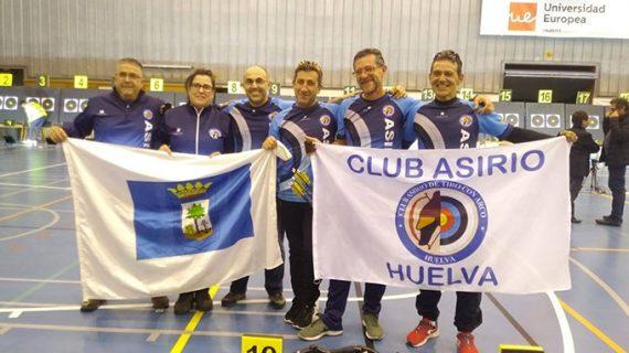Buena actuación de los deportistas del Club Asirio en el Campeonato de España de Sala de arco tradicional y desnudo