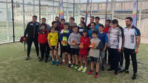 Algunos de los jugadores que tomaron parte en el torneo celebrado en Palos de la Frontera.