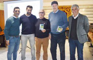Un momento del homenaje que se tributó a Manuel Casado Martínez y Manuel Rodríguez Riera.