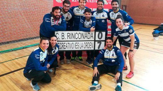 Un imparable Recre IES La Orden repite pleno de victorias en el 'Clásico' ante el CB Rinconada (7-0)