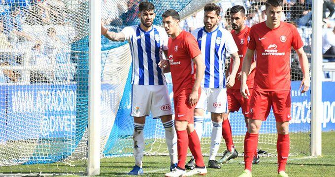 El Recreativo alcanza la promoción de ascenso con la pedrea de un empate sin goles ante el Ibiza
