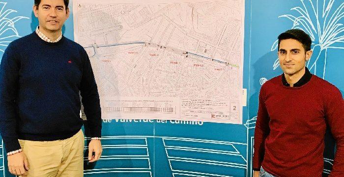 Valverde del Camino presenta el proyecto del nuevo tramo del carril bici