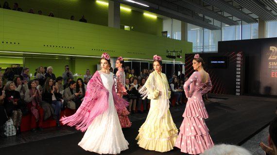 La moda flamenca onubense muestra ya sus nuevos diseños y creaciones en SIMOF 2019