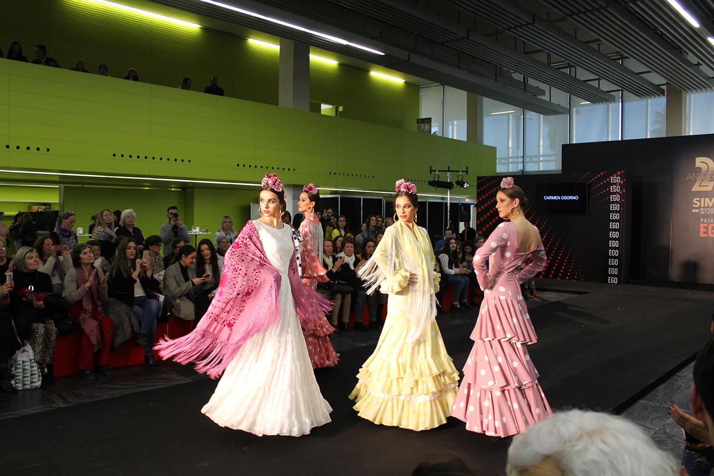 77a7ad827 La moda flamenca onubense muestra ya sus nuevos diseños y creaciones ...