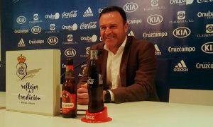 José María Salmerón, entrenador del Recre, en alerta ante el partido del domingo con el Jumilla. / Foto: @recreoficial.
