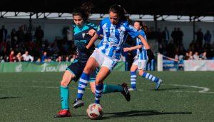 Empate sin goles en el partido entre el Sporting Puerto de Huelva y el Fundación Albacete. / Foto: www.lfp.es.