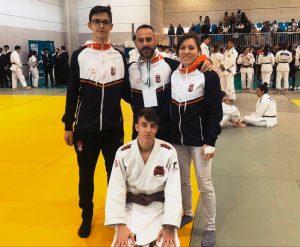 Representantes del Club Huelva TSV Judo en la Copa de Andalucía en Mijas. / Foto: @JudoHuelva1.