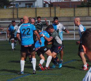 El XV del Lince se trajo a Huelva 5 puntos, victoria y punto bonus ofensivo.