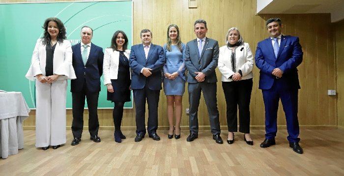 Los delegados territoriales de la Junta de Andalucía en Huelva toman posesión de sus cargos
