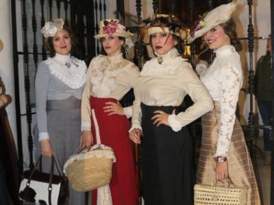 Moguer ultima su Feria de Época 1900, que se celebra entre el 22 y el 24 de febrero