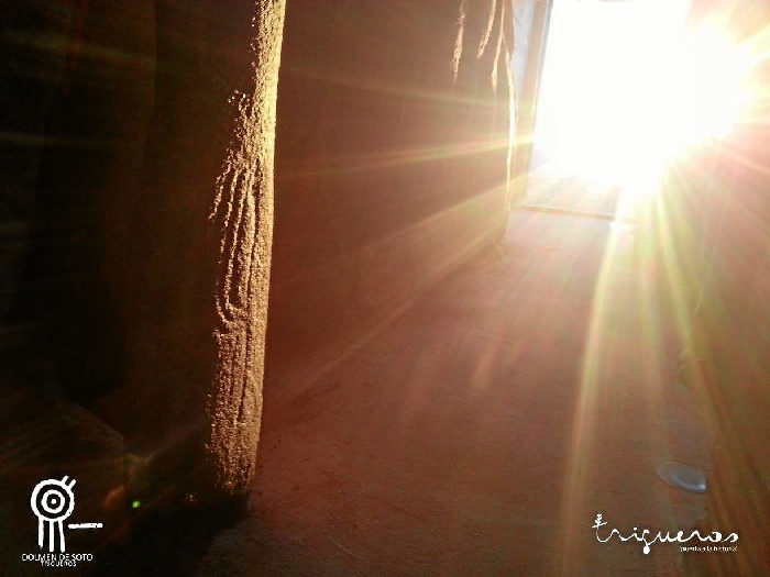 Trigueros recibirá la primavera visualizando los primeros rayos de sol desde el Dolmen de Soto