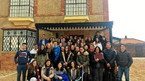 Valverde del Camino recibe a 20 estudiantes procedentes de la ciudad italiana de Livorno