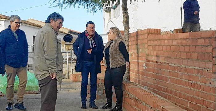 Giahsa aporta apoyo técnico y materiales para obras de urbanización en El Almendro