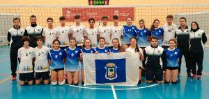Componentes de los equipos de Huelva en el Campeonato de Andalucía de Selecciones Provinciales Cadetes.