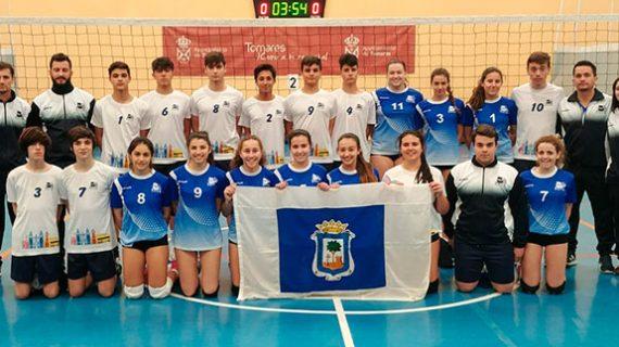 Huelva cierra con un cuarto y un sexto puesto el Campeonato de Andalucía de Selecciones Provinciales Cadetes de voleibol