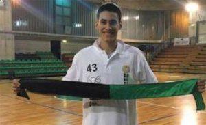 Tika Vukasin, fichado por el CDB Enrique Benítez, jugará esta temporada en el PMD Gibraleón. / Foto: @CDB_EBenitez.