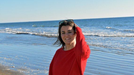 Celia Guillén, una pacense que llegó a Huelva motivada por la formación de posgrado onubense
