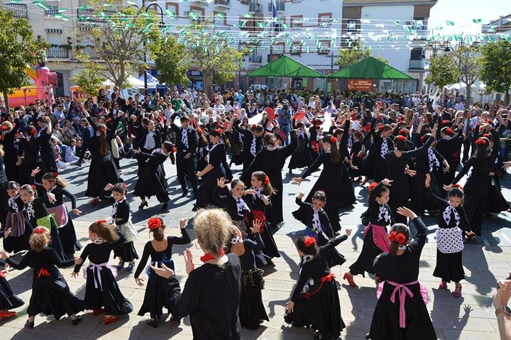 San Juan del Puerto se echa a la calle en la celebración del Día de Andalucía