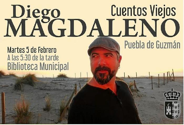 Puebla de Guzmán difunde los cuentos tradicionales de la mano de Diego Magdaleno