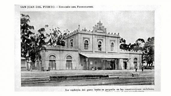 San Juan del Puerto recuperará para la circulación la Estación de Ferrocarril del siglo XIX