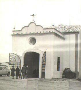Fachada provisional de la Ermita de El Rocío, década de los sesenta del XX