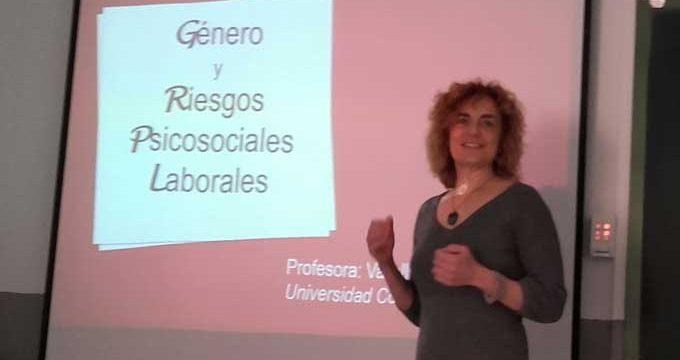 La profesora de la Complutense Lola Vallellano publica un estudio nacional sobre riesgos laborales desde el punto de vista de género