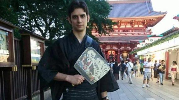 Un apasionado por la cultura japonesa que dejó su Huelva natal hace ya 7 años