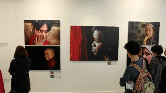 Francisco Magallón expone en Latitudes su muestra 'Mujer, todos somos una'