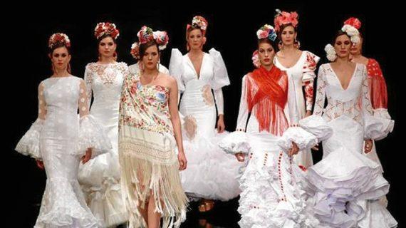 El diseño onubense invade Simof como un presagio de la moda flamenca que desfilará por las romerías de la provincia