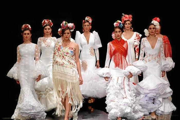 60e22582c El diseño onubense invade Simof como un presagio de la moda flamenca ...