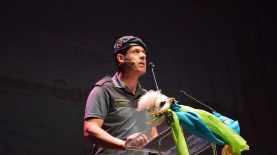 Juan Carlos Pata pregona con humor y emoción el Carnaval de Punta Umbría
