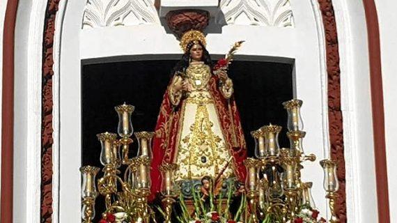 Villalba del alcor celebra un día repleto de actos en honor a su patrona, Santa Águeda