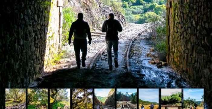 Una ruta de senderismo recorre el río Tinto hasta llegar a la aldea de Abiud