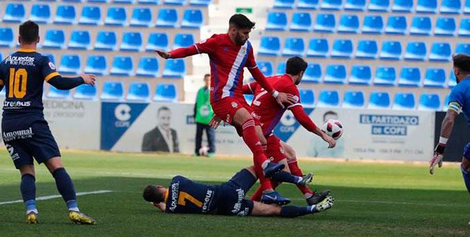 El Recre está obligado a mostrar su cara más competitiva si quiere obtener un buen resultado en Miranda de Ebro.