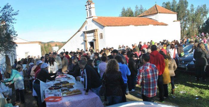 Zalamea celebra la romería de San Blas, una cita tradicional cada mes de febrero