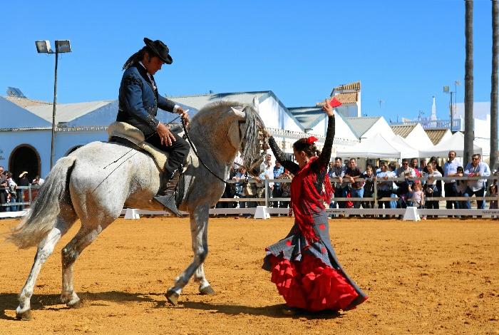 Cartaya cierra su XVIII Feria del Caballo con un éxito rotundo de público