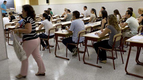 Este sábado comienzan en Andalucía las oposiciones al Cuerpo de Maestros